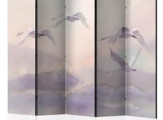 Paraván - Flying Swans II [Room Dividers]